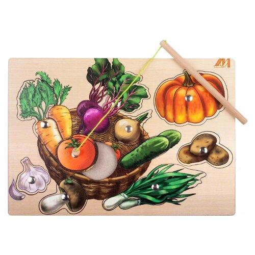 деревянные игрушки Рыбалка Деревянные игрушки Овощная корзинка бежевый/оранжевый/зеленый