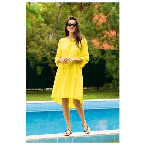 Пляжное платье Laete размер XS(42) желтый платье oodji ultra цвет красный белый 14001071 13 46148 4512s размер xs 42 170