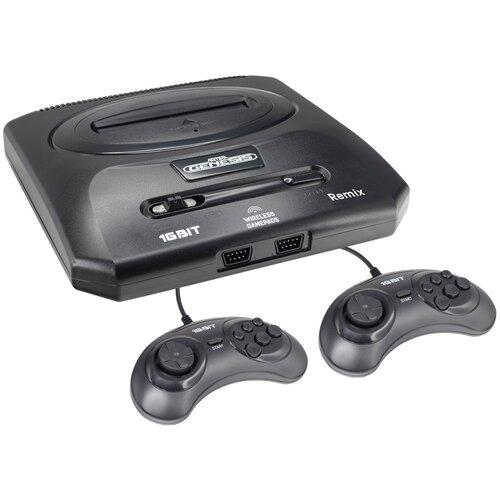 Игровая приставка SEGA Genesis Remix (600 игр) черный