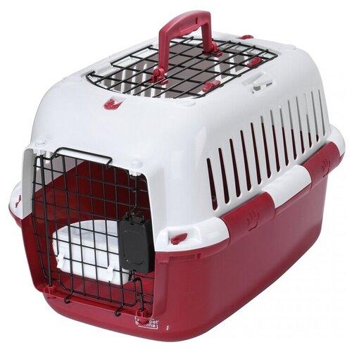 Фото - Клиппер-переноска для кошек и собак EBI Adventurer 50 basic edition 32х32х49 см красный клиппер переноска для собак imac linus cabrio 50х32х34 см розовый
