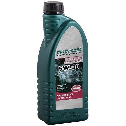 Синтетическое моторное масло Mabanol Xenon Ultra Synth Longlife 5W-30 1 л