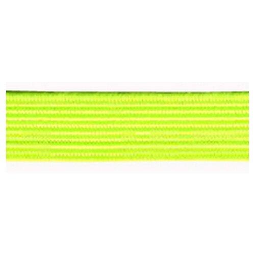 Купить Резинка продежка, 6, 6 мм, цвет неоновый желтый 64% полиэстр, 36% латекс, PEGA, Технические ленты и тесьма