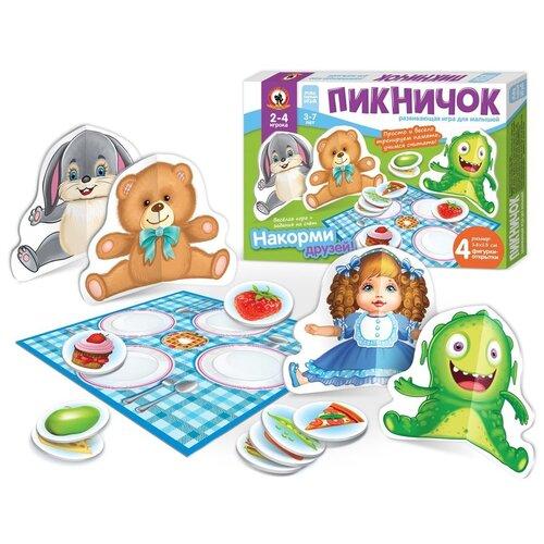 Настольная игра для малышей с объемными фигурками Пикничок Русский Стиль 2090 недорого
