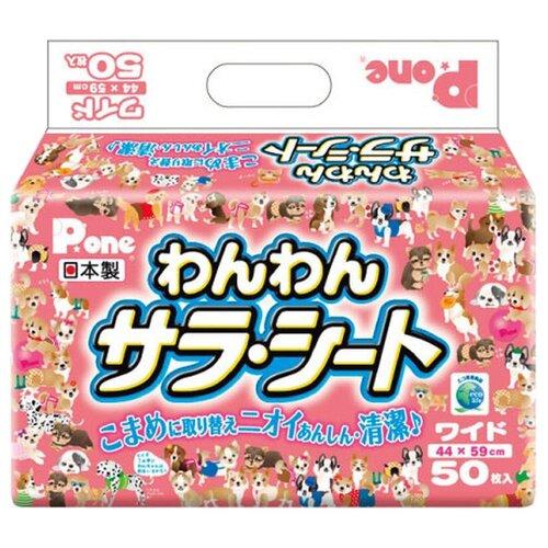 Пеленки для собак впитывающие Japan Premium Pet PWW-649 59х44 см 50 шт.