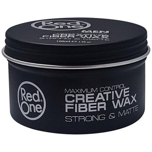 Купить RedOne Моделирующий матовый воск для волос ультрасильной фиксации Creative Fiber Wax STRONG & MATTE, 100 мл