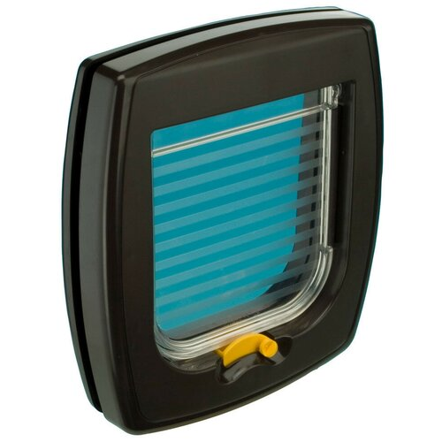 Дверца в дверь для животных Ferplast Swing 1 21.5х24 см коричневый
