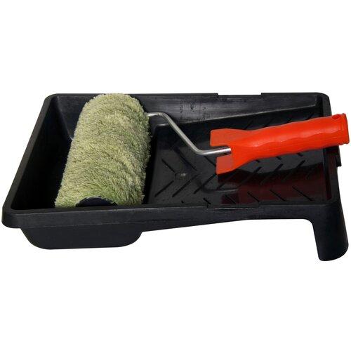 0703016 Набор (валик в сборе Синтекс 250 мм, ванночка черная 330х350 мм) 10 KORVUS