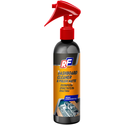 RUSEFF Полироль-очиститель пластика матовый, 0.25 л