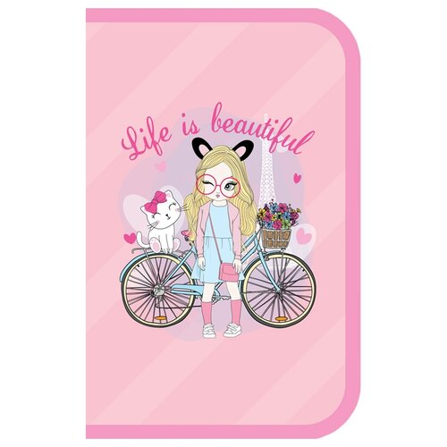 Купить ArtSpace Пенал Girl's style (ПТ1_29101) розовый, Пеналы