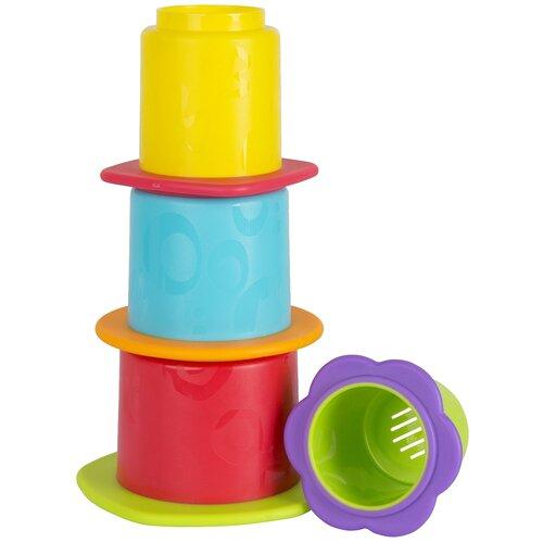 Купить Набор для ванной Playgro Стакананчики (0187253) разноцветный, Игрушки для ванной