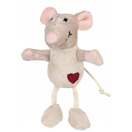 Мышь для кошек TRIXIE Plush Mouse (45579) бежевый