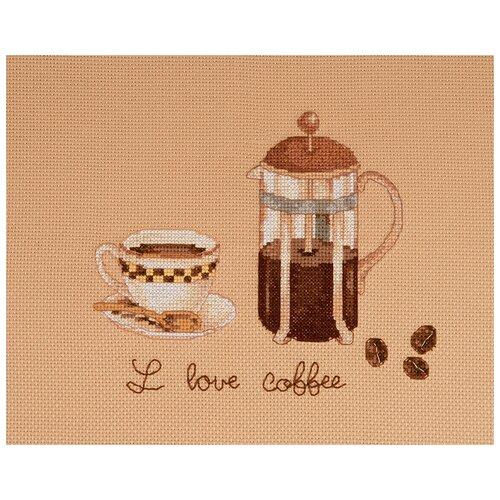 Купить Набор для вышивания Я люблю кофе XIU Crafts 2801404, Наборы для вышивания