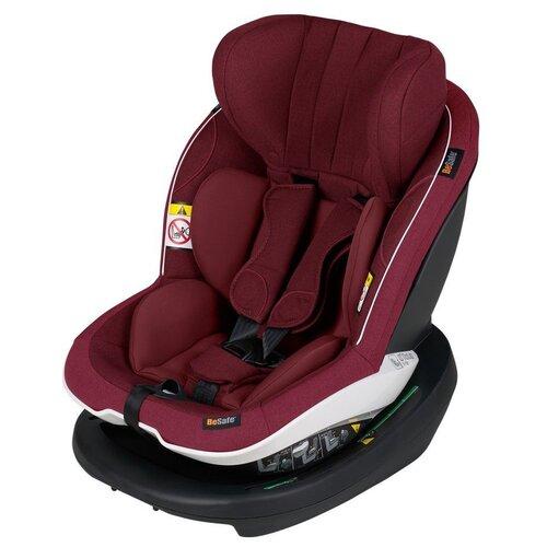 Автокресло группа 0/1 (до 18 кг) BeSafe iZi Modular X1 i-Size, burgundy melange группа 1 от 9 до 18 кг besafe izi comfort x3 c зеркалом besafe baby mirror для контроля за ребенком