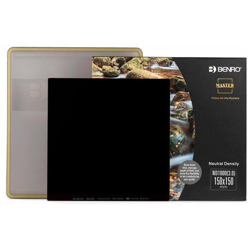 Фото - Benro Master Series ND1000 (3.0) Square Filter 150х150 мм светофильтр нейтрально-серый фоторюкзак benro hummer 100 голубой св серый