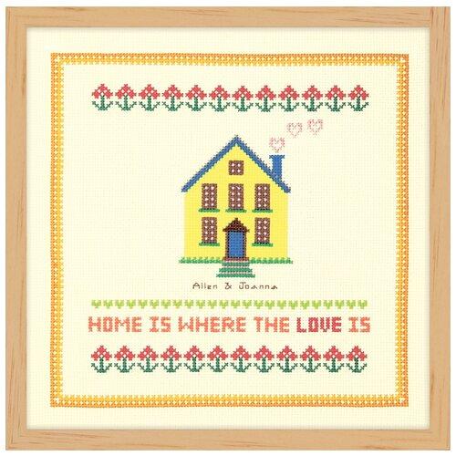 Купить Набор для вышивания Желтая мансарда XIU Crafts 2870713, Наборы для вышивания