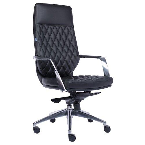Фото - Компьютерное кресло Everprof Roma для руководителя, обивка: искусственная кожа, цвет: черный компьютерное кресло everprof trend tm для руководителя обивка искусственная кожа цвет черный
