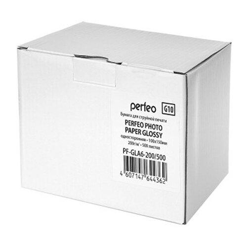Фото - Бумага Perfeo A4 PF-GLA6-200/500 200г/м2 500 листов, белый бумага perfeo a4 pf gla6 200 500 200г м2 500 листов белый