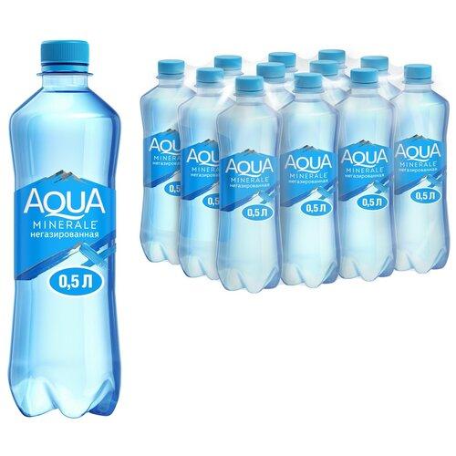 Фото - Вода питьевая Aqua Minerale негазированная, ПЭТ, 12 шт. по 0.5 л вода питьевая aqua minerale негазированная 2 л