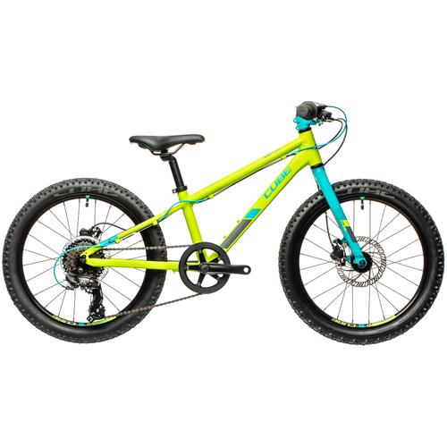 Фото - Детский велосипед Cube Acid 200 Disc (2021) green/petrol (требует финальной сборки) велосипед cube elite c 68 race 29 2x 2016