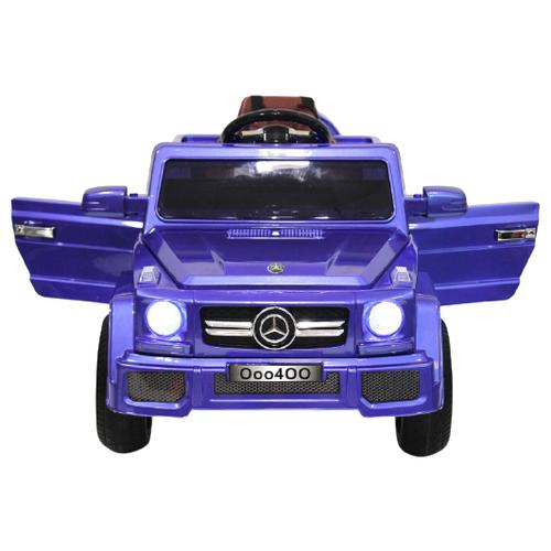 Купить RiverToys Автомобиль Mers O004OO, синий, Электромобили
