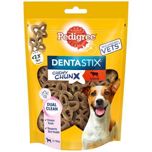 Фото - Лакомство для собак Pedigree Denta Stix Жевательные кусочки для мелких пород говядина, 68 г pedigree pedigree ranchos лакомство для собак с говядиной 58 г