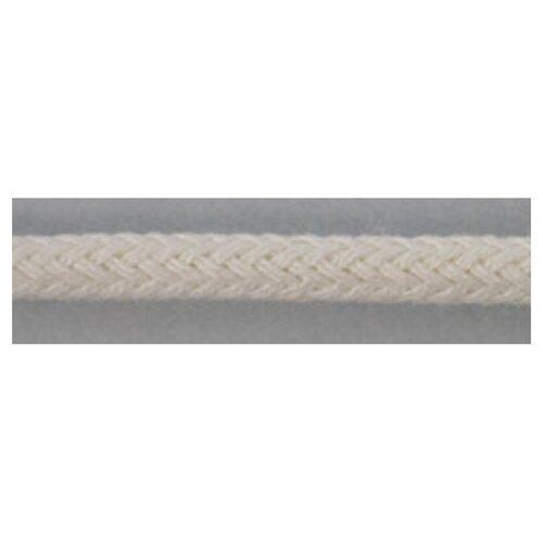 Шнуры PEGA плетеный, цвет белый, 3,5 мм 50% хлопок, 50% вискоза