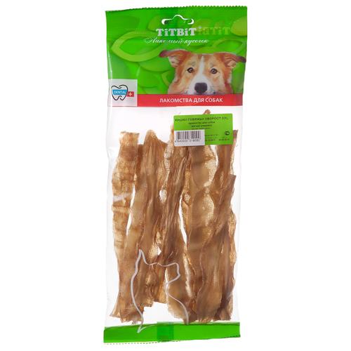 Лакомство для собак Titbit Кишки говяжьи хворост XXL, 38 г недорого