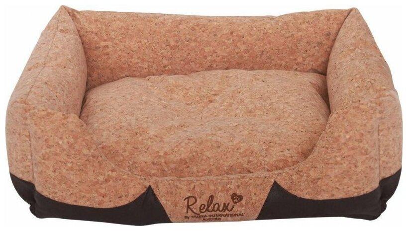 Лежак для собак и кошек Fauna International Eldora 60х50х16 см