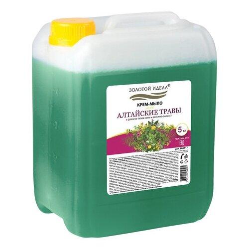 Купить Крем-мыло Золотой идеал Алтайские травы, 5 л