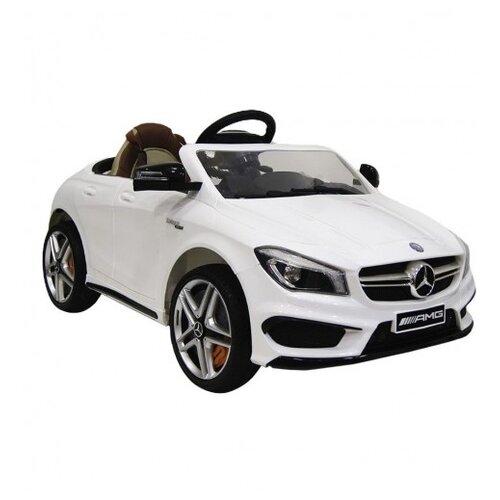 Купить RiverToys Автомобиль Mercedes-Benz CLA45 A777AA, белый, Электромобили