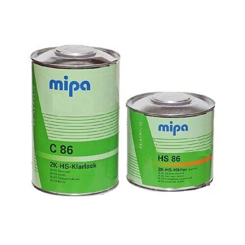 Комплект (автомобильный лак, отвердитель для лака) MIPA 2K HS 2+1 C-86 + HS 86