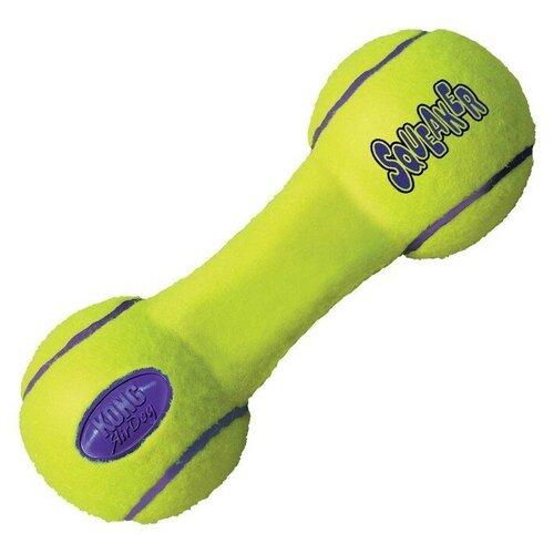 Гантель для собак KONG Air ASDB2 желтый kong kong игрушка для собак air гантель большая 23 см