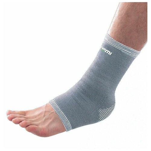 Защита голеностопа ATEMI ANS-005, р. S, серый защита колена atemi ans 003 р xl серый
