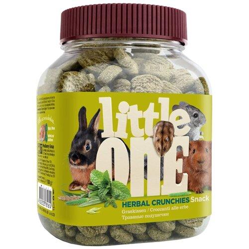 Фото - Лакомство для кроликов, грызунов Little One Snack Herbal crunchies 100 г little one snack puffed grains лакомство для грызунов воздушные зерна 100 гр