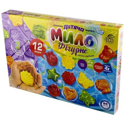 Danko Toys Набор для мыловарения Детское фигурное мыло (DFM-02-01) недорого