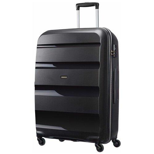 Чемодан American Tourister Bon Air 91 л, черный чемодан american tourister sunside черный m