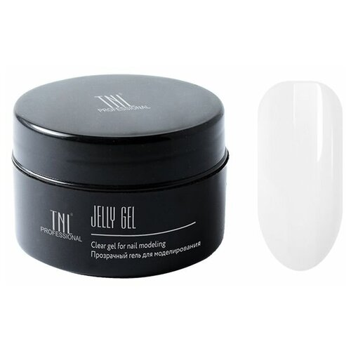 Гель-желе TNL Professional Jelly Gel моделирующий, 18 мл прозрачный гель желе irisk professional jelly clear premium pack однофазный для моделирования 5мл прозрачный