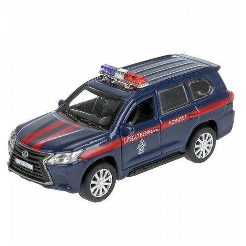 Внедорожник ТЕХНОПАРК Lexus LX-570 Следственный комитет (LX570-12COM), 12 см, синий