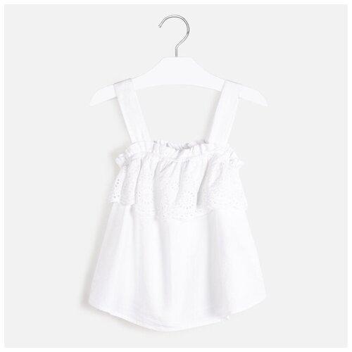 Блузка Mayoral размер 162, белый