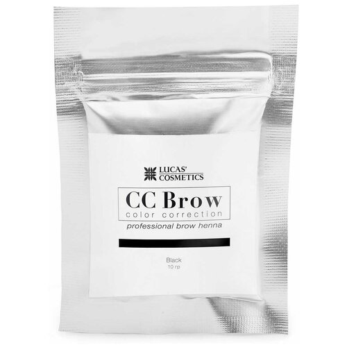 Фото - CC Brow Хна для бровей в саше 10 г black cc brow хна для бровей в саше 10 г blonde