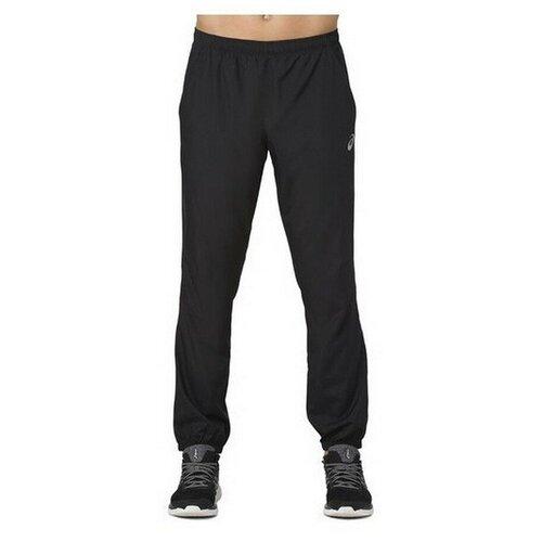 брюки мужские asics 2031a968 400 tailored pant 2031a968400 3 размер 50 цвет черный Брюки мужские спортивные ASICS 2011A038 001 SILVER WOVEN PANT 2011A038001-3 размер 52 цвет черный