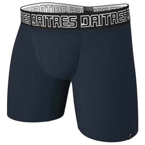 Daitres Трусы боксеры удлиненные с профилированным гульфиком Long+ Bamboo, размер M/48, синий