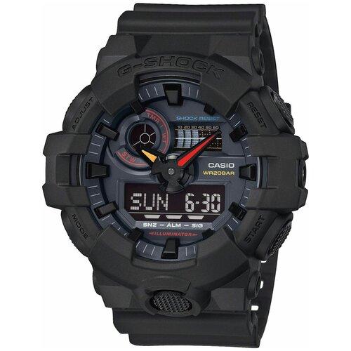 Японские наручные часы Casio G-SHOCK GA-700BMC-1AER с хронографом