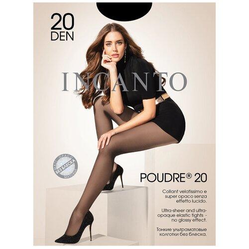 Колготки Incanto Poudre, 20 den, размер 5-XL, nero (черный)