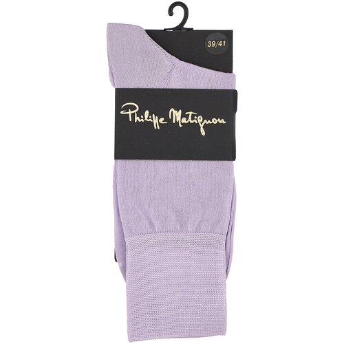 Фото - Носки Philippe Matignon PHM701, размер 39-41, lilla носки philippe matignon phm701 размер 45 47 nero