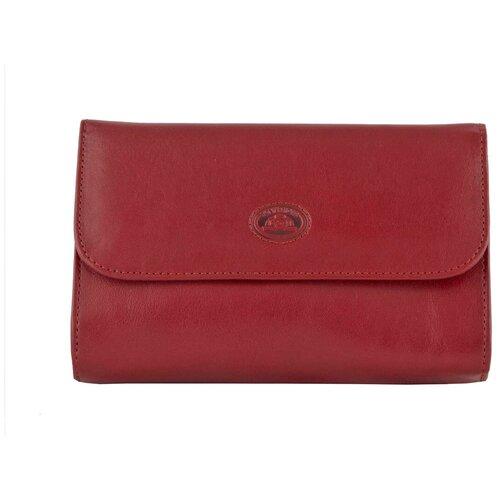 Косметичка Tony Perotti Italico - Tuscania, женская, натуральная кожа, красный, 331284/4
