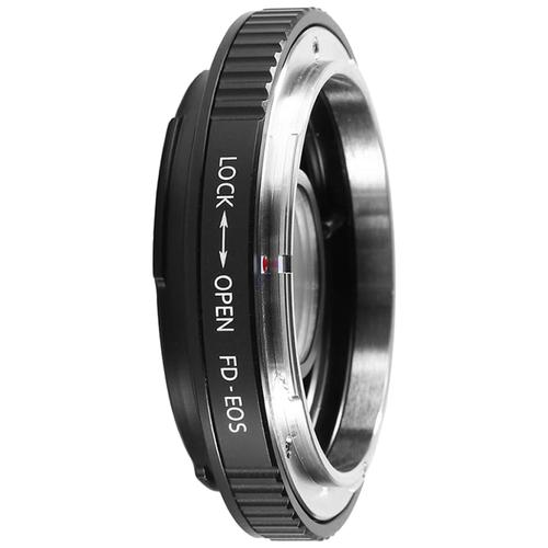 Фото - Адаптер K&F Concept для объектива Canon FD FL на Canon EF KF06.082 велосипедная рама microshift fd r52f 9 8 shimano front derailleur fd r52 f