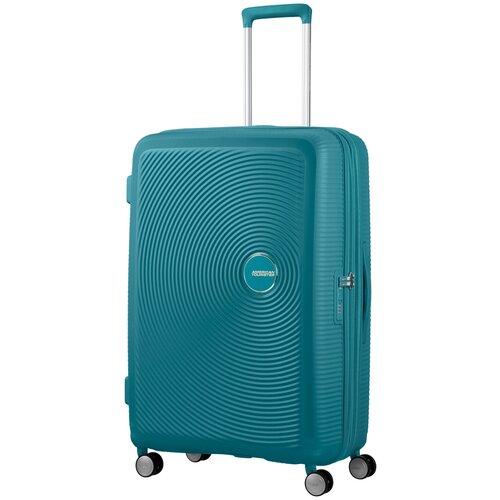 Чемодан American Tourister Soundbox M 81 л, jade green чемодан american tourister sunside черный m
