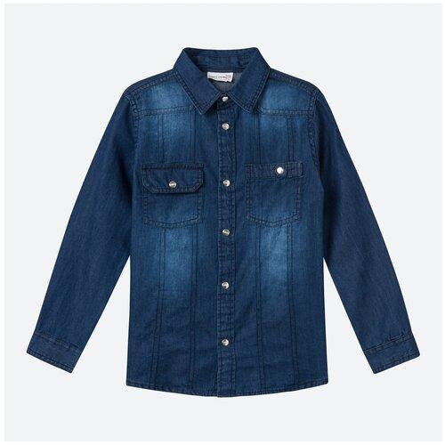 Рубашка COCCODRILLO размер 104, синий
