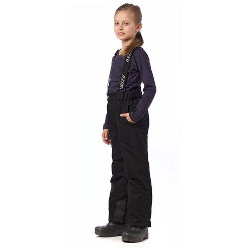Горнолыжные брюки подростковые AZIMUTH 291 ПД (Черный/128)